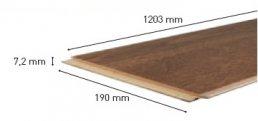 4420 Дуб Ivory brushed тонкая