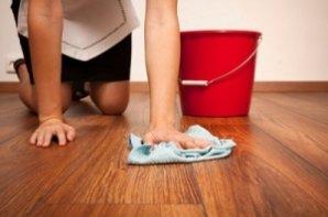Как отмыть пятна с ламината